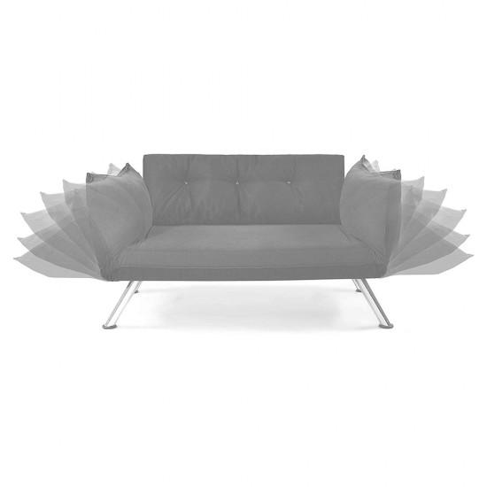 Canapea extensibila 2 locuri Model RELAX Sand