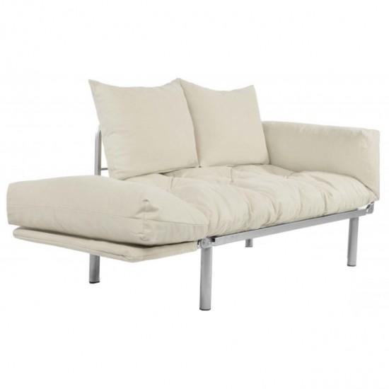 Canapea extensibila 2 locuri - Combi Crem - Crem