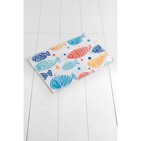"""""""FISH COLOURFUL DJT"""" Covoros de Baie 40x60 cm"""