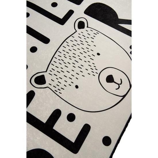 """LITTLE BEAR GRI"" Covor Copii  100 cm x 160 cm"